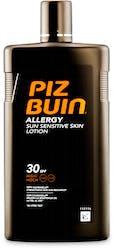 Piz Buin Allergy Sensitive Skin SPF30 Sun Lotion With Calmanelle 400ml