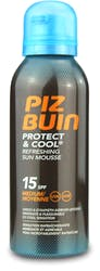 Piz Buin Protect and Cool Sun Mousse SPF15 150ml