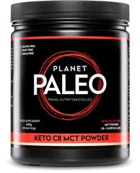 Planet Paleo Keto C8 MCT Powder 440g