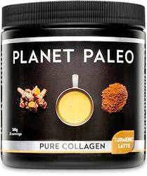 Planet Paleo Pure Collagen Turmeric Latte 260g