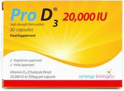 Pro D3 20,000 IU 30 Capsules