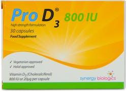 Pro D3 800 IU 30 Capsules