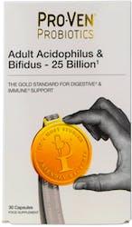 Proven Probiotics Acidophilus & Bifidus 25 Billion 30 Capsules