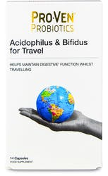 Proven Probiotics Acidophilus & Bifidus For Travellers 30 Capsules