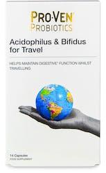Proven Probiotics Acidophilus & Bifidus for Travellers 30 Capsules