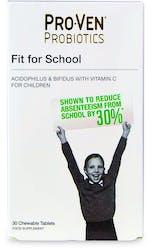 Proven Probiotics Fit For School 30 Tablets