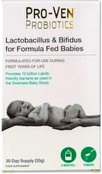 Proven Probiotics Lactobacillus & Bifidus For Formula Fed Babies 33g