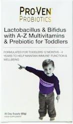 Proven Probiotics Lactobacillus & Bifidus For Toddlers 60g
