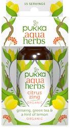 Pukka Aqua Herbs Ginseng, Green Tea & Lemon 30ml