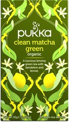 Pukka Clean Matcha Green Tea 20 Sachets