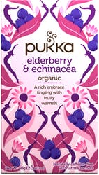Pukka Elderberry and Echinacea Tea 20 Sachets