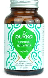 Pukka Essential Spirulina 150 Tablets
