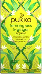 Pukka Lemongrass & Ginger Tea 20 Sachets