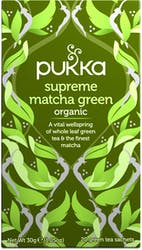 Pukka Supreme Matcha Green 20 Tea Bags