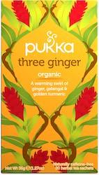 Pukka Three Ginger Tea 20 Sachets