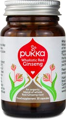 Pukka Wholistic Red Ginseng 30 Capsules