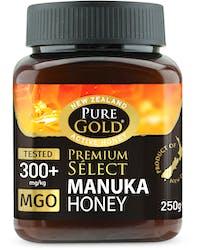 Pure Gold Premium Select 300+mgo Manuka Honey 250g