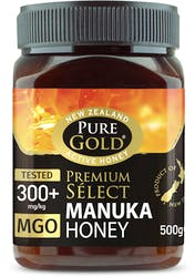 Pure Gold Premium Select 300+ MGO Manuka Honey 500g