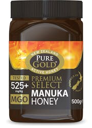 Pure Gold Premium Select Manuka Honey 525 500G
