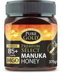 Pure Gold Premium Select Manuka Honey 85Mgo 375g