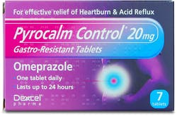 Pyrocalm Control 20mg 7 Tablets