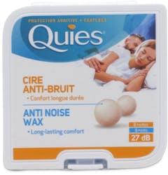 Quies Earplugs Pure Wax 8 Pairs