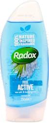 Radox Feel Active Sea Salt & Lemongrass Shower Gel 250ml
