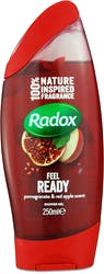 Radox Feel Ready Shower Gel Pomegranate & Apple Scent 250 ml