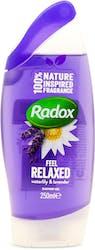Radox Feel Relaxed Waterlily & Lavender Shower Gel 250ml