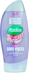 Radox Shower Gel Rose Water & Pink Elderflower 250ml