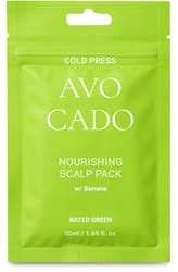 Rated Green Cold Press Avocado Nourishing Scalp Pack with Banana