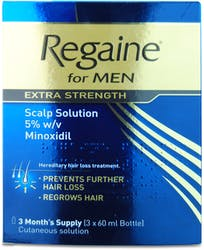 Regaine Extra Strength 3 Month's Supply