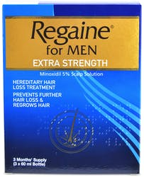 Regaine Extra Strength For Men 3x60ml