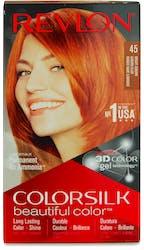 Revlon Colorsilk Permanent Hair Colour Bright Auburn
