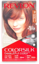 Revlon Colorsilk Permanent Hair Colour Dark Mahogany Brown