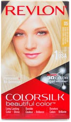 Revlon Colorsilk Permanent Hair Colour Ultra Light Ash Blonde