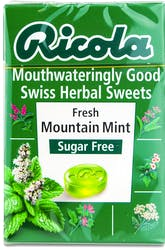 Ricola Fresh mountain Mint Sugar Free Lozenges 45g