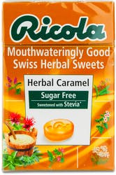 Ricola Herbal Caramel Sugar Free Lozenges 45g