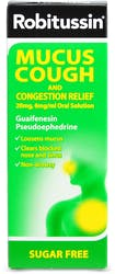 Robitussin Chesty Cough & Congestion Relief 100ml