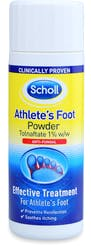 Scholl Footcare athletes foot range powder 1% 75g