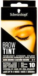 Schwarzkopf Brow Tint Dark Brown 17ml