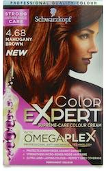 Schwarzkopf Color Expert Omegaplex Mahogany Brown 4.68