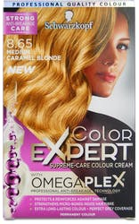 Schwarzkopf Color Expert Omegaplex Medium Caramel Blonde 8.65