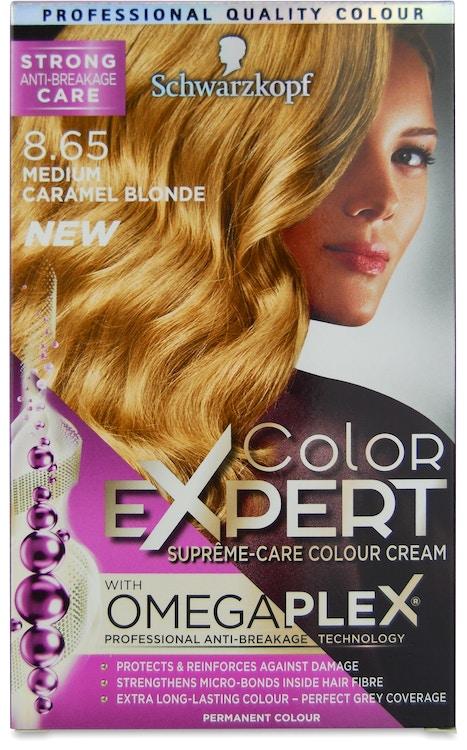 Buy Schwarzkopf Color Expert Omegaplex Medium Caramel