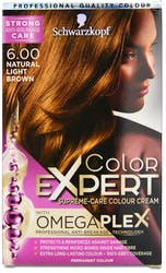 Schwarzkopf Color Expert Omegaplex Natural Light Brown 6.0