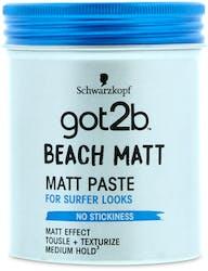 Schwarzkopf Got2be Beach Matt Paste 100ml
