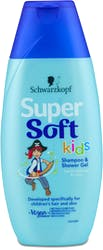 Schwarzkopf Super Soft Kids Shampoo and Shower Gel 250ml