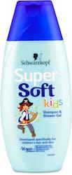 Schwarzkopf Super Soft Kids Shampoo and Shower Gel 250ml
