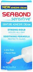 Seabond Denture Adhesive Cream Sensitive 40 g