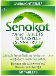 Senokot 7.5mg 12 Years Plus 60 Tablets